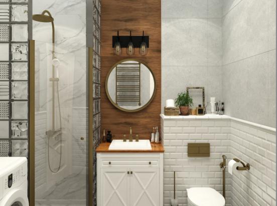 vannaya v stile loft