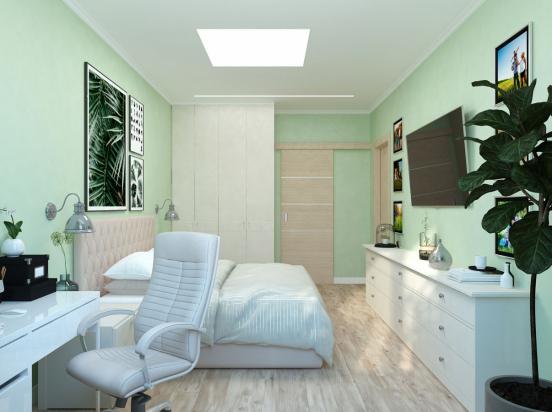 spalnya zelenye steny (3)